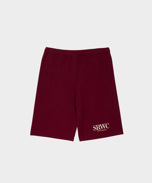 Sporty & Rich Upper East Side Biker Short Merlot