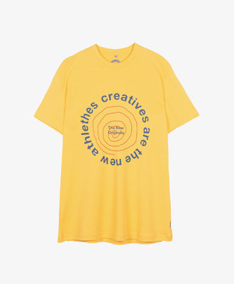 The New Originals TNO CATNA Circle Tee Yellow
