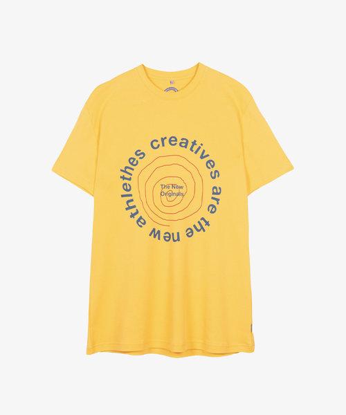 TNO CATNA Circle Tee Yellow