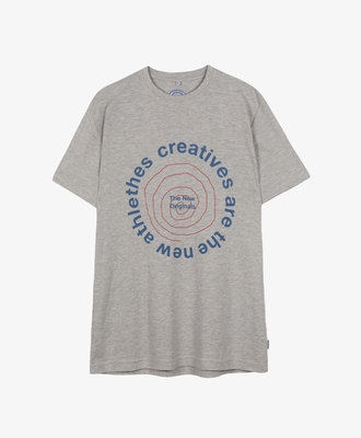 The New Originals TNO CATNA Circle Tee Grey