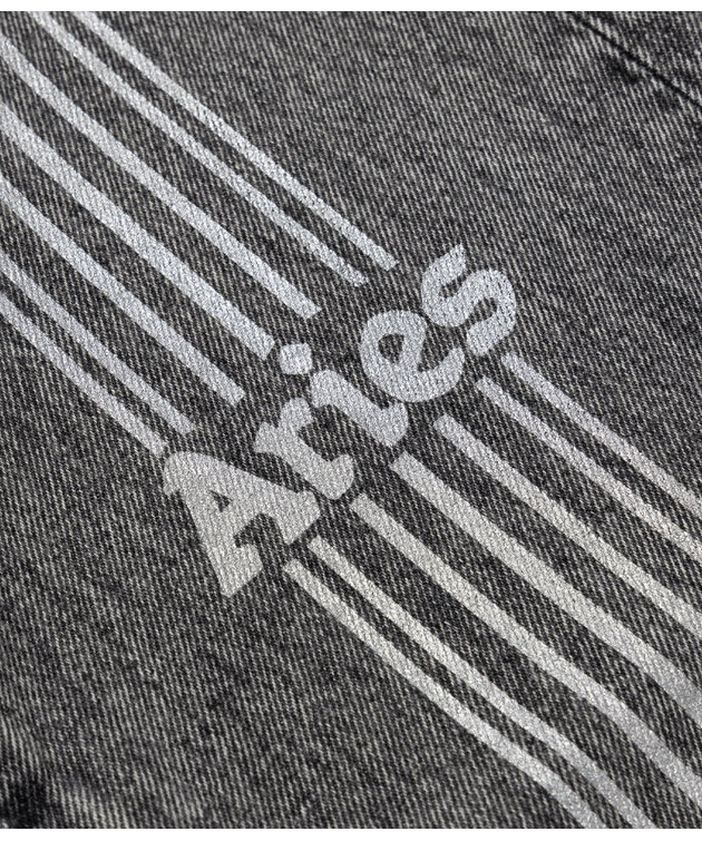 Aries Aries Acid Wash Batten Jean Grey