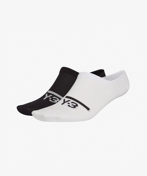 Y-3 2PP Invi Socks Black/White