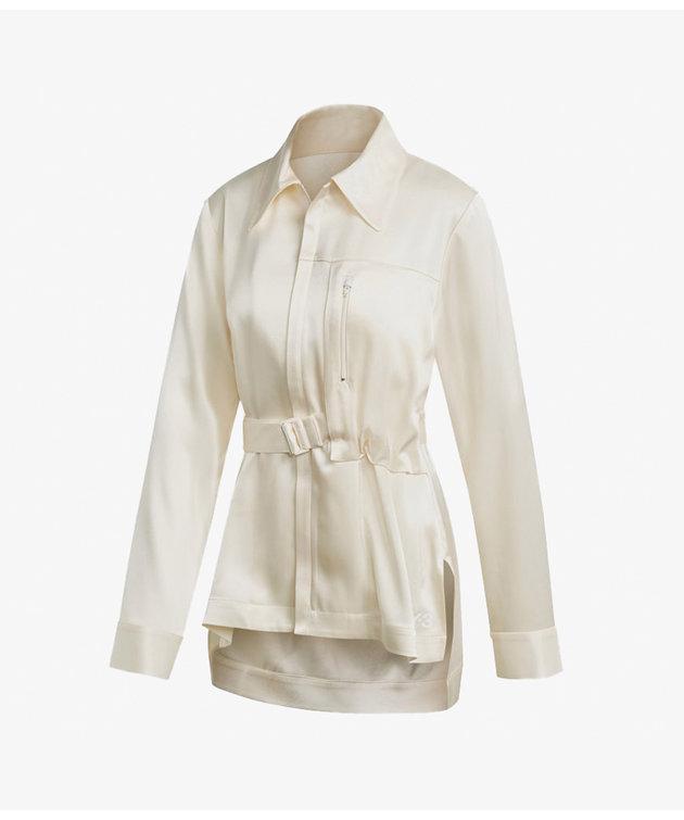 Y-3 Y-3 CH3 Tech Silk Shirt White