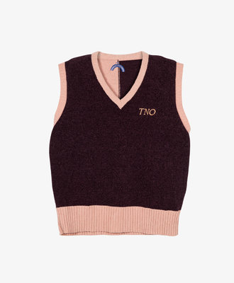 The New Originals TNO Square Pullover Knit Lavendel
