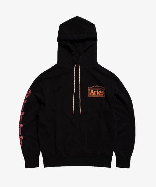 Aries Column Hoodie Black