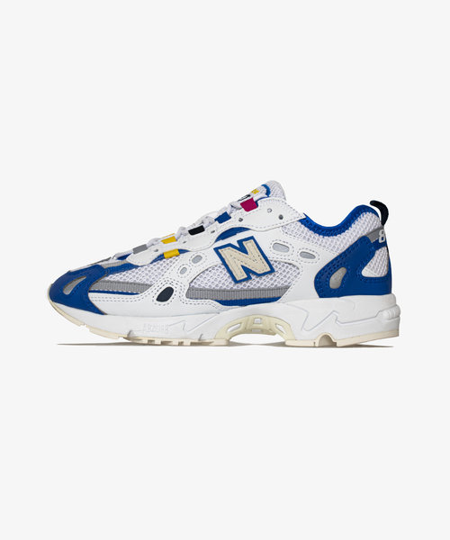 New Balance 827 White/Cobalt Blue