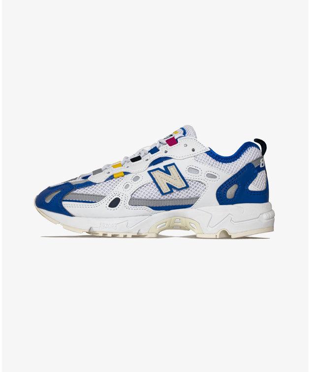 New Balance 827 White/Cobalt Blue