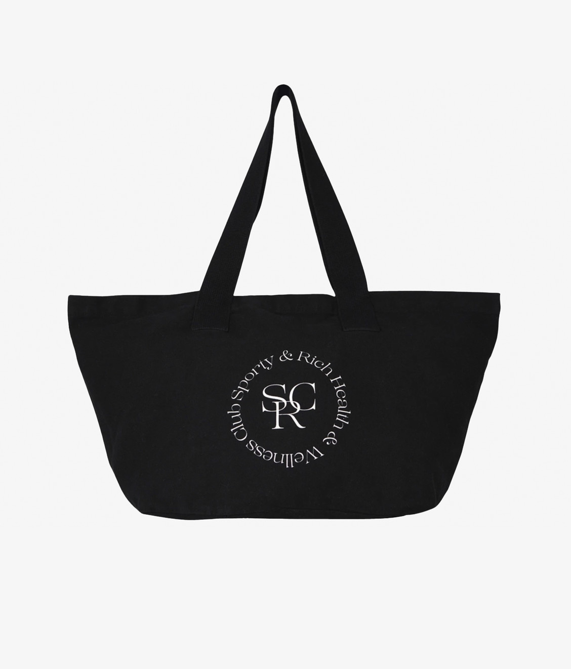 Sporty and Rich Sporty & Rich SRHWC Tote Black