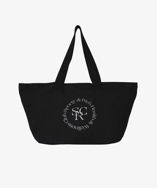 Sporty and Rich S & R SRHWC Tote Black
