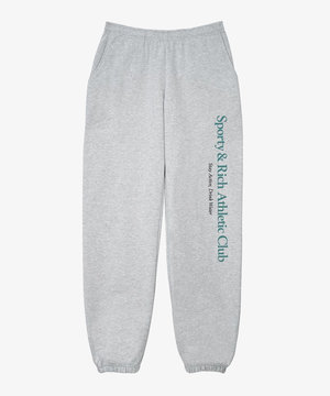 Sporty and Rich Sporty & Rich Athletic Club Sweatpants Heather Grey