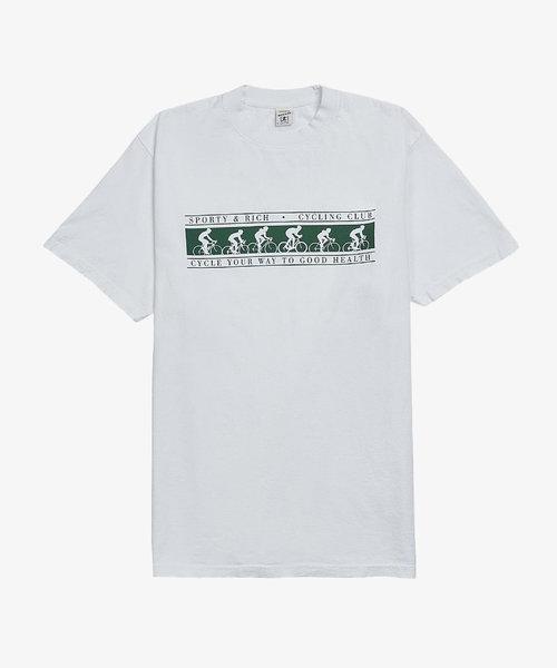 S & R Cycling Club T-Shirt White