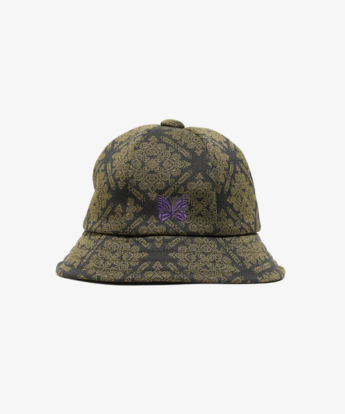 Needles Bermuda Hat Poly Jq. Damask