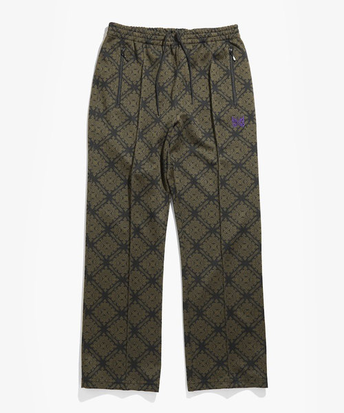 Needles Track Pant Poly Jq. Damask
