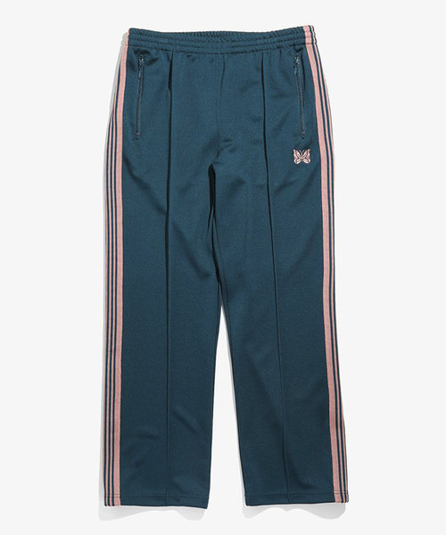 Needles Track Pant Poly Smooth Teel Green