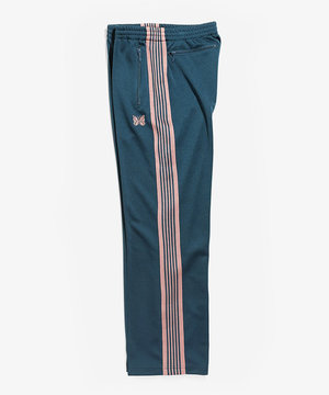 Needles Needles Track Pant Poly Smooth Teel Green