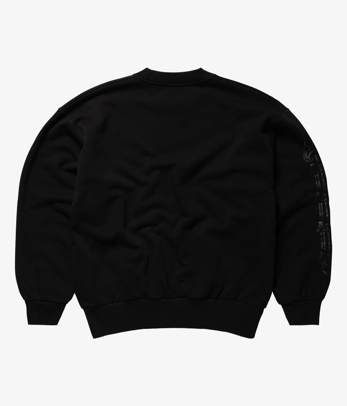 Aries Aries Column Sweatshirt Black