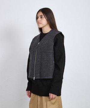 POP Trading Company POP Wizard Vest Boiled Wool