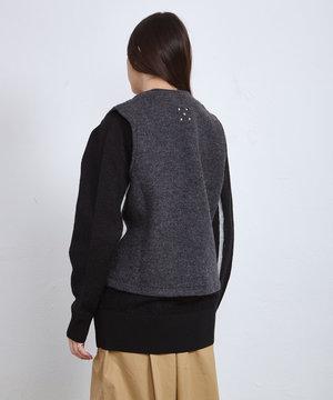 POP Trading Company POP Wizard Boiled Wool Vest