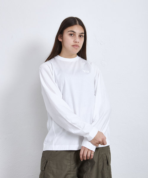 Y-3 W Classic Tailored LS Tee White