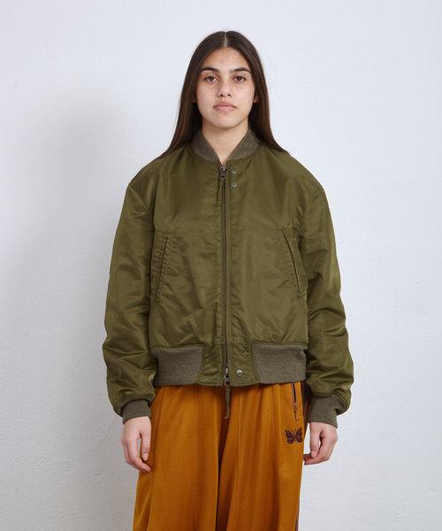 EG SVR Jacket Olive Satin Nylon