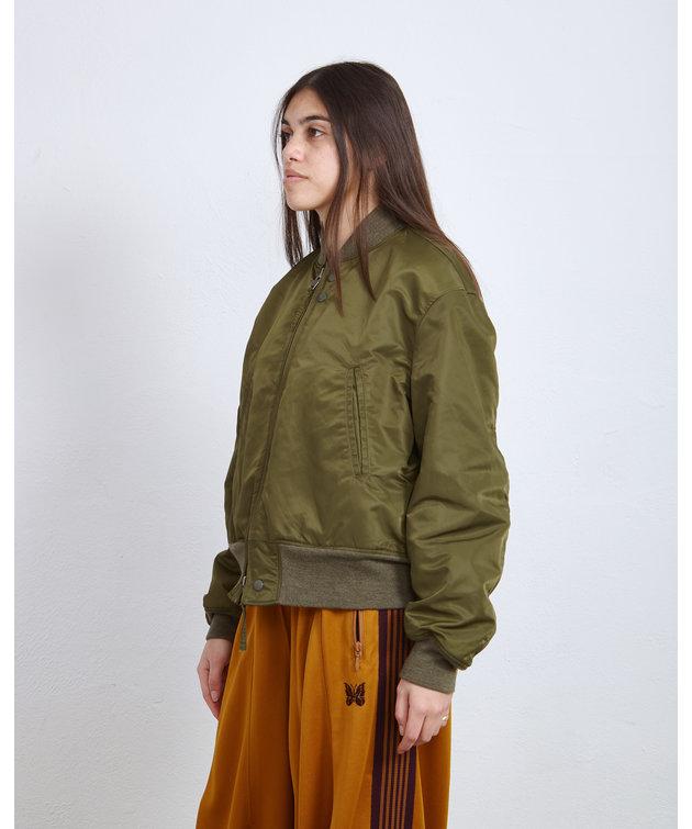 Engineered Garments EG SVR Jacket Olive Satin Nylon