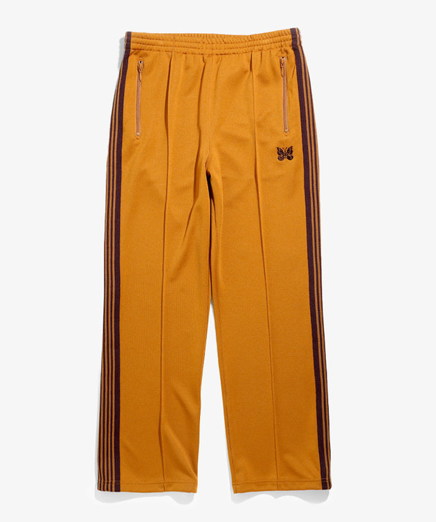 Needles Needles Track Pant Poly Smooth Mustard