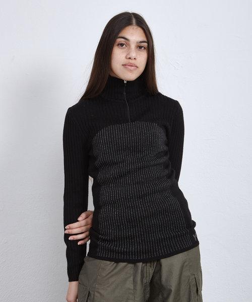 Y-3 W CH1 Reflective Knit Sweater Black