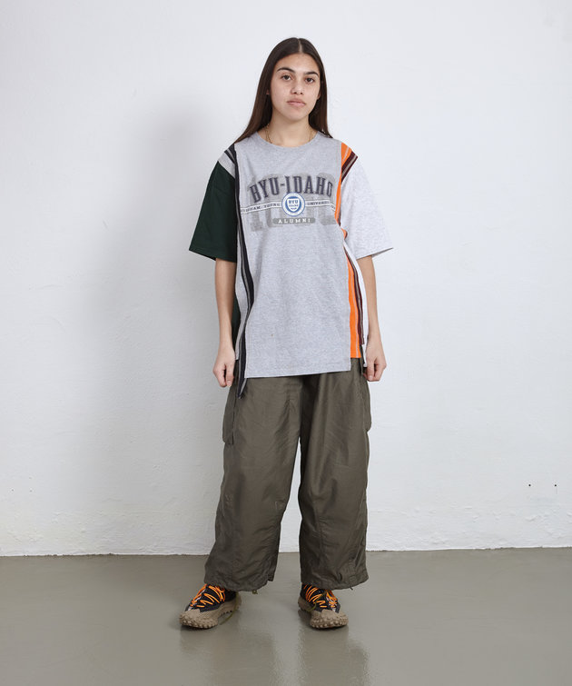 Needles Rebuild by Needles 7 Cuts Wide Tee College ONE SIZE