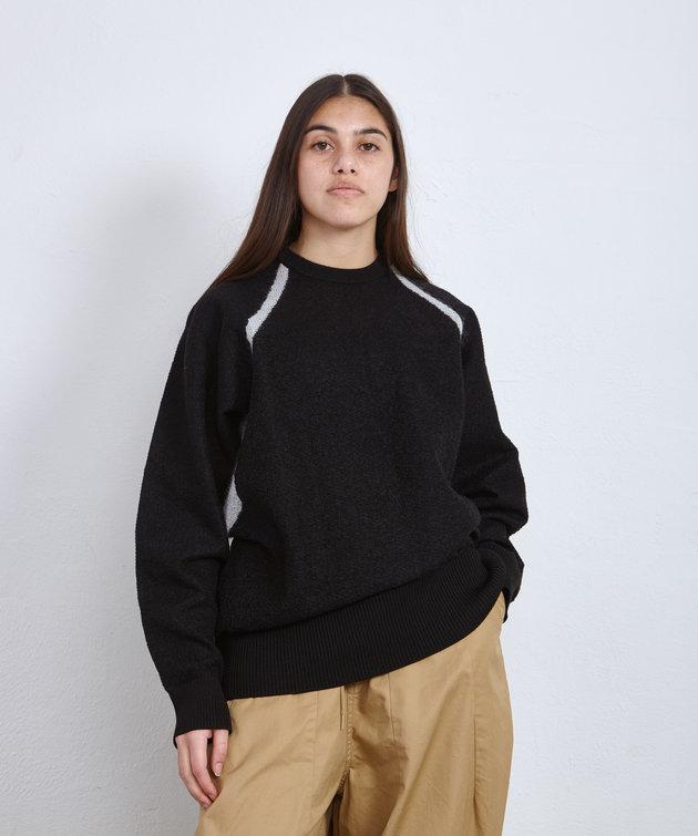 Y-3 Y-3 Classic Sheer Knit Crew Black