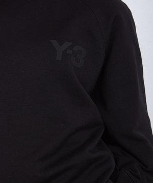 Y-3 Y-3 W Classic Chest Logo Crew Black