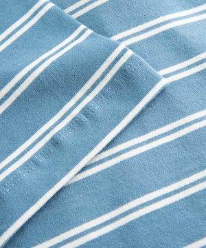 Wood Wood Wood Wood Alma Heavy T-Shirt Blue Stripes
