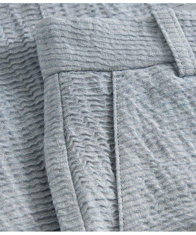 Wood Wood Wood Wood Oaklyn Textured Trousers Blue