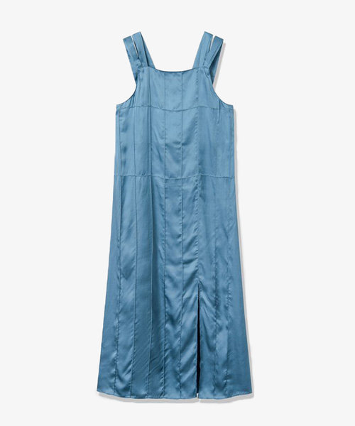 Wood Wood Aurora Pintuck Dress Blue