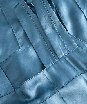 Wood Wood Wood Wood Aurora Pintuck Dress Blue