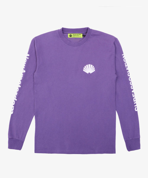 New Amsterdam Logo Longsleeve Grape