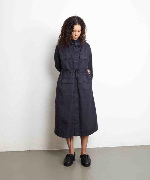 EG Cagoule Dress Dark Navy Highcount Twill