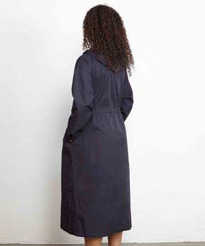 Engineered Garments EG Cagoule Dress Dark Navy Highcount Twill