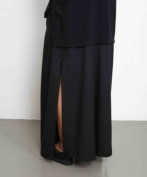 Y-3 Y-3 W Classic Refined Wool Wide Pant Black