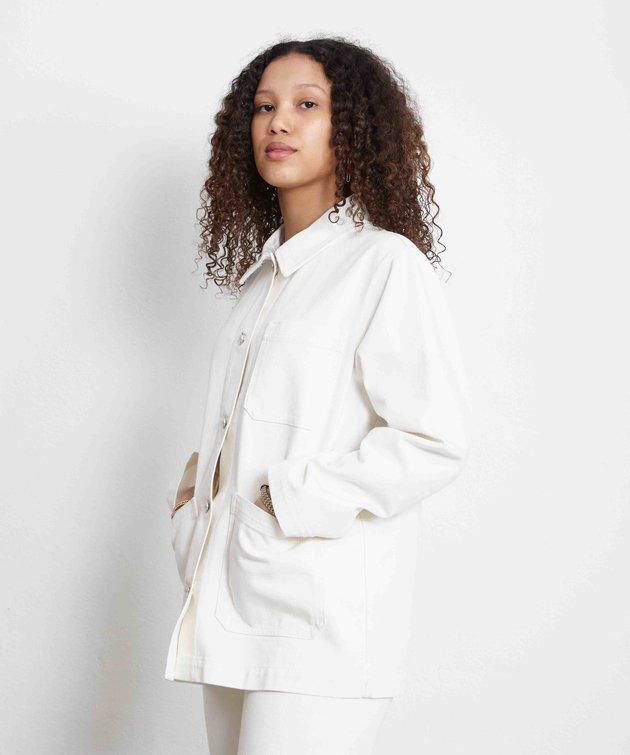 Wood Wood Wood Wood Mary-Ann Denim Jacket Off-White