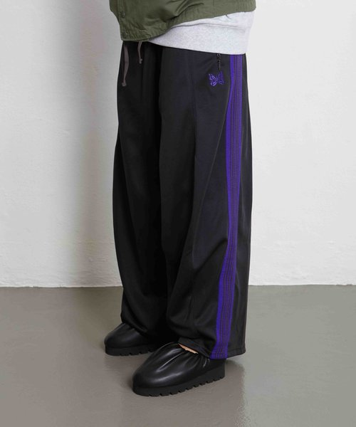 Needles H.D. Track Pant Poly Charcoal