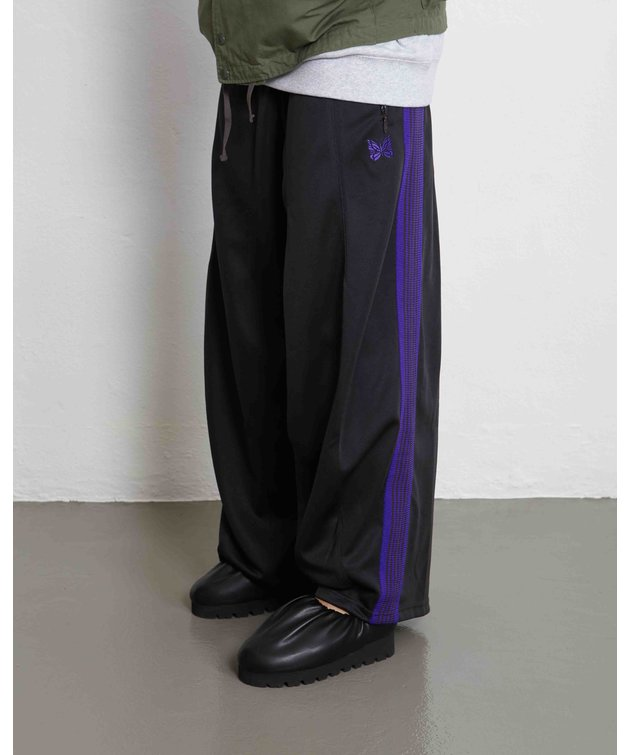 Needles Needles H.D. Track Pant Poly Charcoal