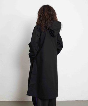 Y-3 Y-3 W Bonded Racer Hooded Trench Black