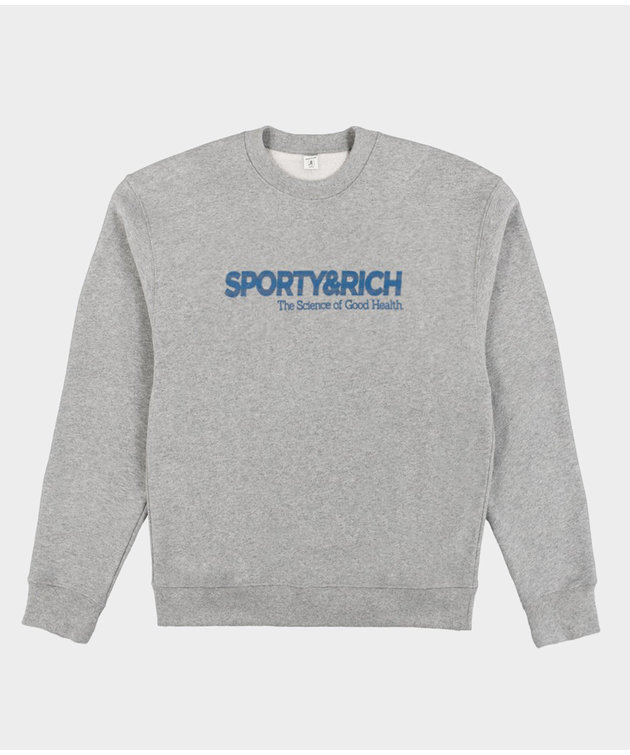 Sporty and Rich Sporty & Rich SOGH Crewneck Heather Gray