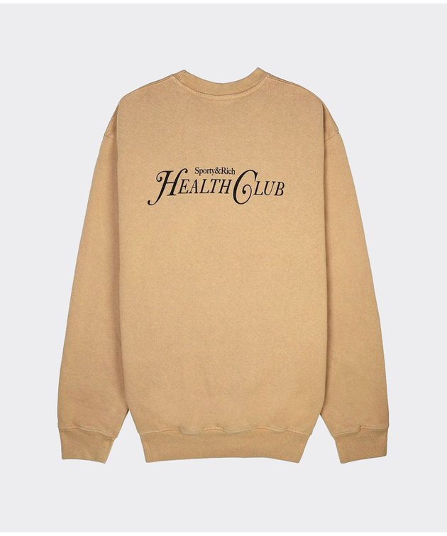 Sporty and Rich Sporty & Rich Rizzoli Crewneck Camel