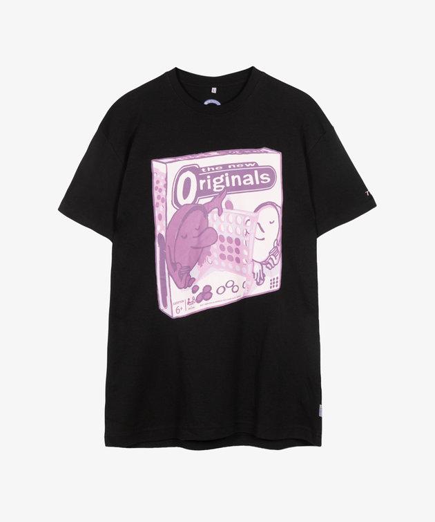 The New Originals TNO 4 In A Row Tee Black