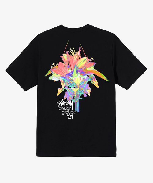 Stussy Design Group 21 Tee Black
