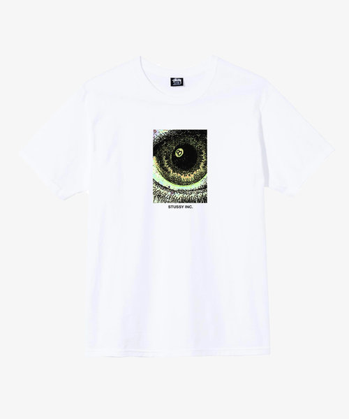 Stussy Acid Eye Tee White