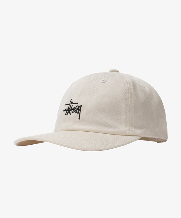 Stussy Stussy Stock Low Pro Cap Natural