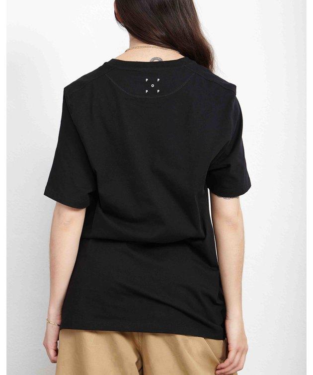 POP Trading Company POP Amsterdam T-shirt Black