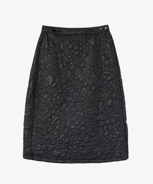 Stussy Ritters Quilted Skirt Black